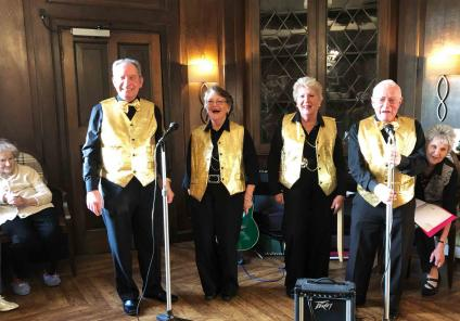 Hungerford Care Home, Berkshire. We enjoyed a spectacular performance from the 'Good Companion' singers with some Christmas carols!