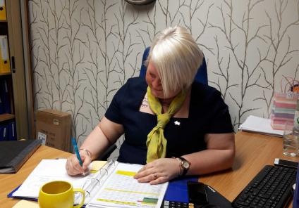 Avery Mews Care Home in Heckmondwike were tasked with solving the case of the missing manager. The last sighting of Home Manager Sarah was in her office before her untimely disappearance!