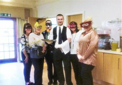 Henleigh Hall Care Home in Sheffield created a fantastic 'Henleigh Hall Hotel' murder mystery story in the home. The team enjoyed dressing up and acting out the murder mystery for residents to solve!