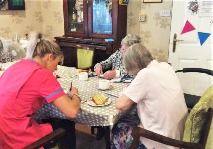 the lawns care home in oadby celebrate national care home open day