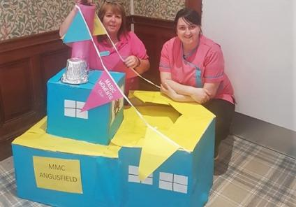 Angusfield Care Home in Aberdeen take part in the Create Challenge