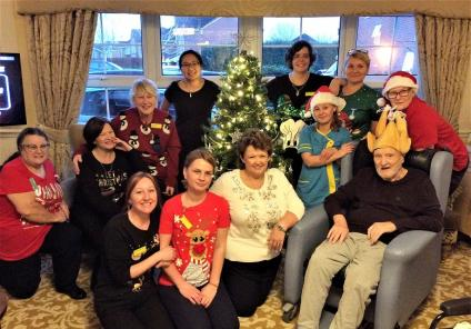 Claremont Parkway Care Home, Northamptonshire. A very happy Christmas from all of us here at Claremont Parkway