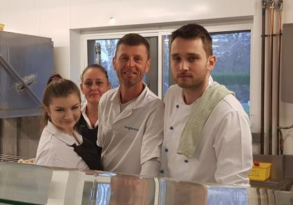 The Cedars Care Home, Salisbury. A great big thank you to our wonderful kitchen team who cooked an amazing Christmas dinner for all our residents