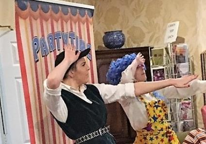 The Lawns Care Home, Leicestershire. On 20th December our residents enjoyed a performance of the pantomime Puss In Boots