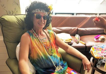 Meyrick Rise Care Home in Bournemouth hold their own 1960s summer festival