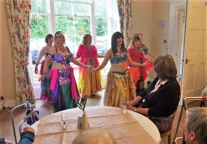 Ross Court Care Home makes links with local community for The Big Lunch