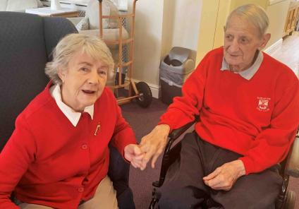 brighterkind's Flowerdown care home residents enjoy red nose day for comic relief