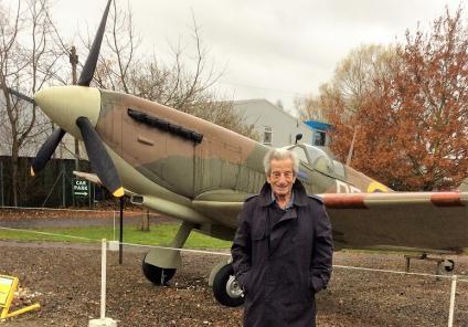Boroughbridge Manor Care Home visit the Yorkshire Air Museum