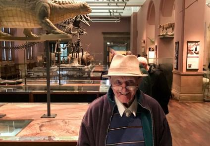 Buchanan House Care Home, Glasgow-Resident Christopher exploring the Kelvingrove Galleries