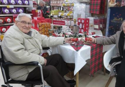 Westbury Court Care Home in Bath grant a wish for Mary and Arthur