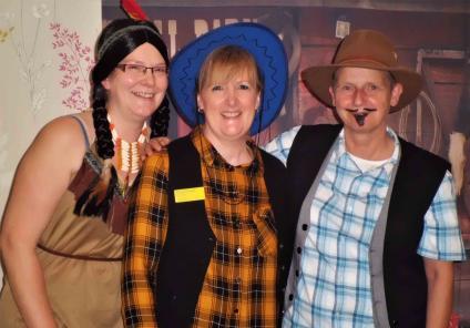 Garioch Care Home enjoys Wild West Day