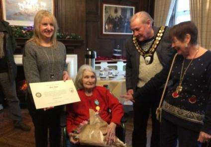 Beryl's outstanding service to the community