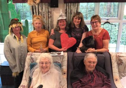 Lawton Manor Care Home, Staffordshire-Lawton Manor presents....The Wizard of Oz!