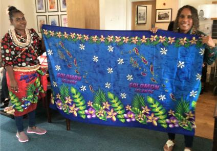Lawton Manor Care Home, Staffordshire-Our special guests Muriel and Kate Pwaisho