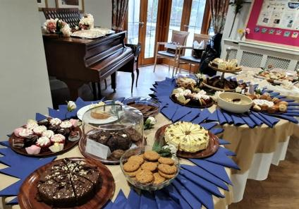 Meyrick Rise Care Home, Dorset-Afternoon tea fit for a Queen!