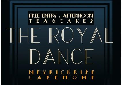 Meyrick Rise Care Home, Dorset-The Royal Dance poster that the students created