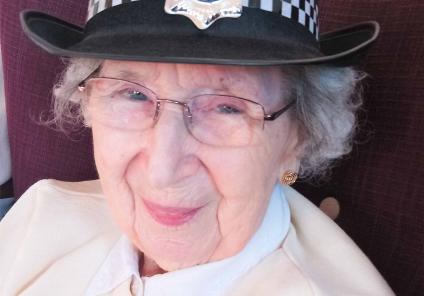 Crabwall Hall Care Home in Chester had their very own murder mystery followed by a session with Cheshire Police. Resident Muriel is the newest recruit!