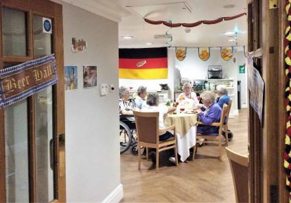 Oktoberfest comes to Meyrick Rise