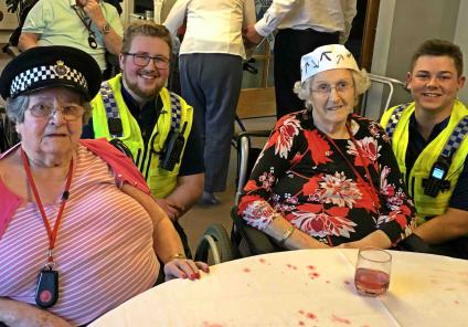Meyrick Rise in Bournemouth solved a murder by completing puzzles riddles and challenges, with help from the Dorset Police. Residents Joyce and Betty with out neighbourhood team