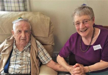 Flowerdown Care Home in Winchester hosted a murder mystery afternoon to celebrate 70 years of Cluedo, solving the mystery of who killed the butler! Resident Rodney and wife June have their thinking caps on!
