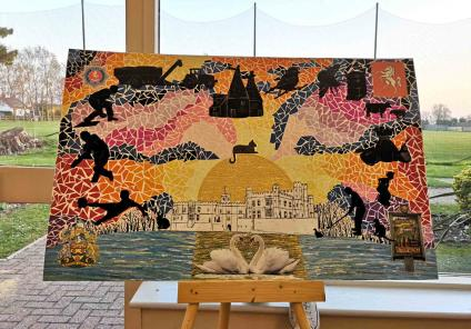 Artwork at Sutton Valence Care Home in Maidstone