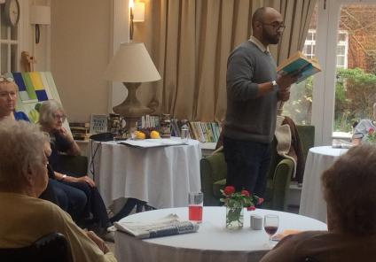Our storyteller Chirag Goyate reading Agatha Christie's 'Triangle at Rhodes'