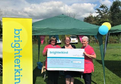 Westbury Court Care Home, Wiltshire-Team members Suzanne, Linda and Justine raised £120 for Fairfield Farm College