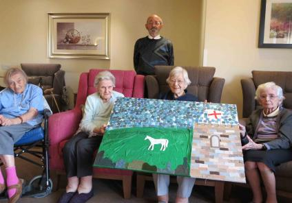 artwork at Westbury Court Care Home in Wiltshire