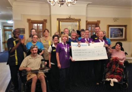 Team at Henleigh Hall Care Home in beauchief