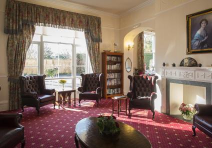 Ross Court living room