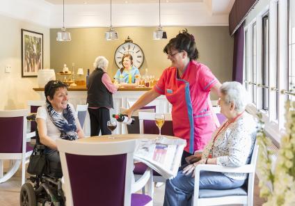 Bar and cafe at Meyrick Rise