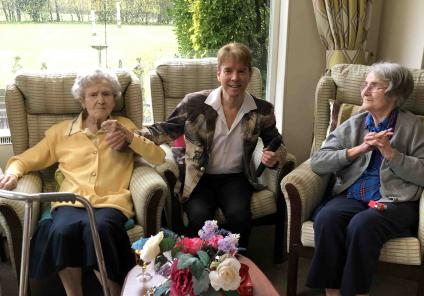 Cossins House Care Home say 'cheers' for Nutrition and Hydration Week