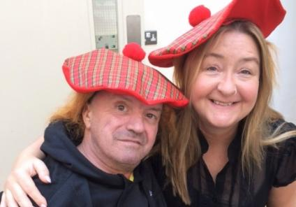 Highlands Care Home enjoyed a traditional Haggis lunch in honour of two of our residents being Scottish. Resident Joao and Home Manager Merissa