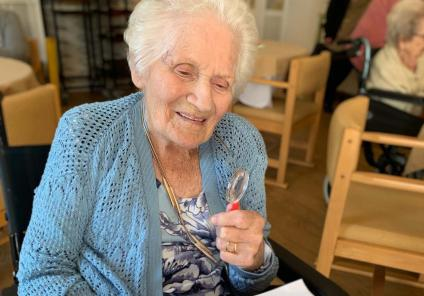 Wheaton Aston Court in Staffordshire had a fantastic afternoon solving the mystery of 'who stole the spam?'. Resident May takes a close look at the evidence!