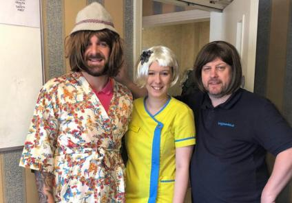 Avery Lodge in Grantham had their own Sherlock Homes themed day, with a detective game, themed quiz and their own homemade game of Cluedo. Team members Sam, Alison and Mick enjoying dressing up for the occasion!