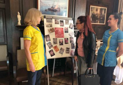 Hungerford Care Home in Berkshire had an 'International Mystery Food Festival'. After food tasting everybody had fun playing 'guess the baby photo' of the team members baby pictures!