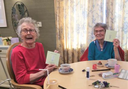 Mother's Day at The Cedars Care Home in Salisbury