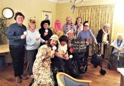 Avery Lodge in Grantham had their own Sherlock Homes themed day, with a detective game, themed quiz and their own homemade game of Cluedo. Residents and team members all enjoyed dressing up as their characters and solving the mysteries!