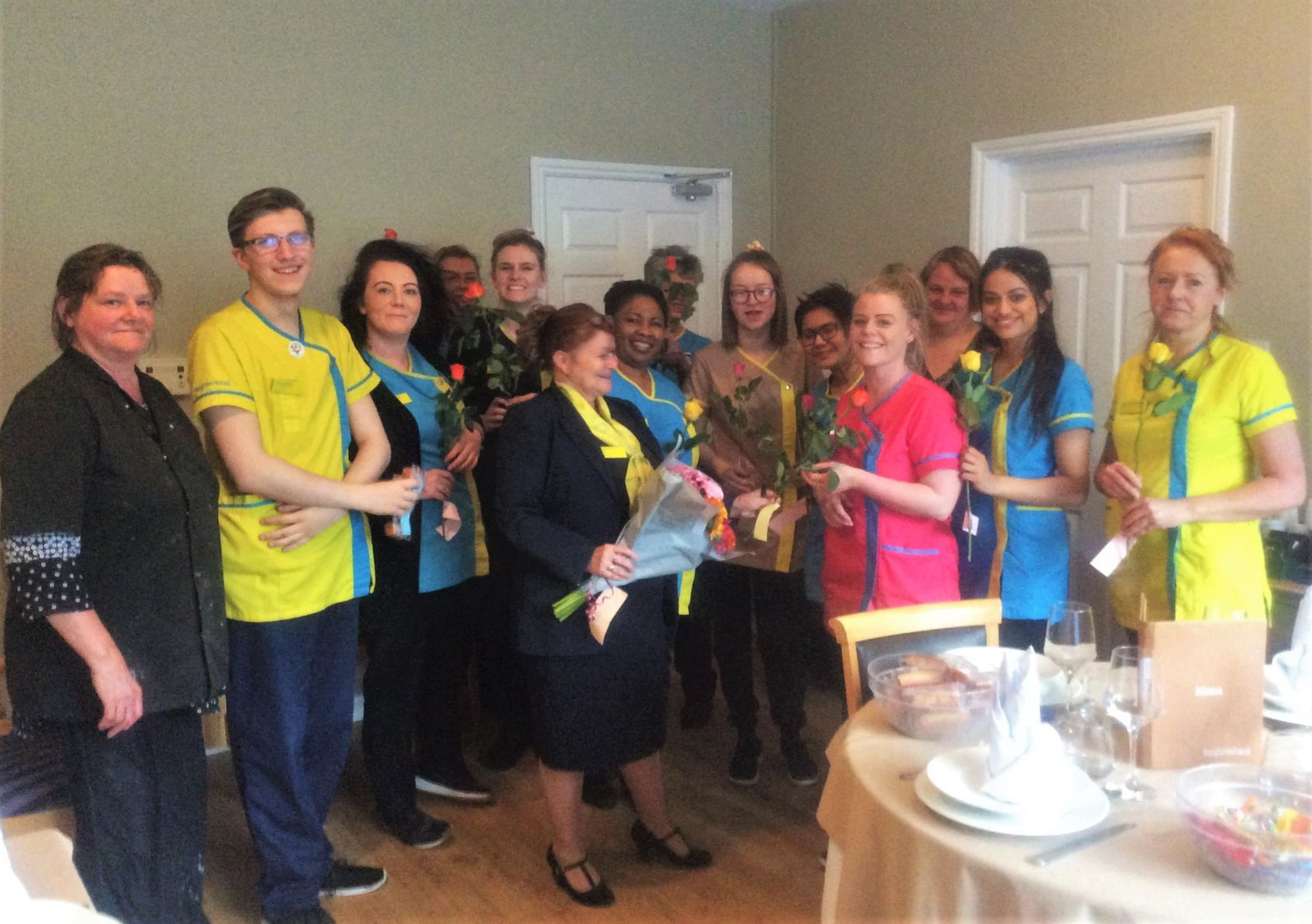 Hamilton House Care Home celebrates team appreciation day